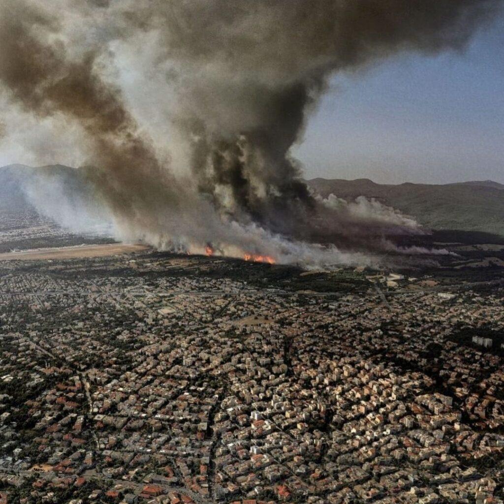 Καταστροφική Πυρκαγιά στην Ελλάδα-Αύγουστος 2021